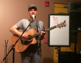 Brad Yoder performing