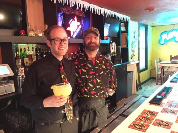 La Paz General Manager Zachery Scull with Executive Chef Alfred Schmucker