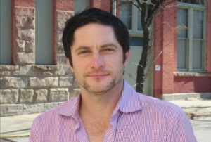 Local-born actor David Conrad visits campus.